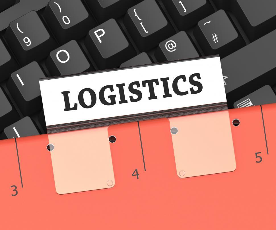 Get Free Stock Photos of Logistics File Means Planning Process 3d