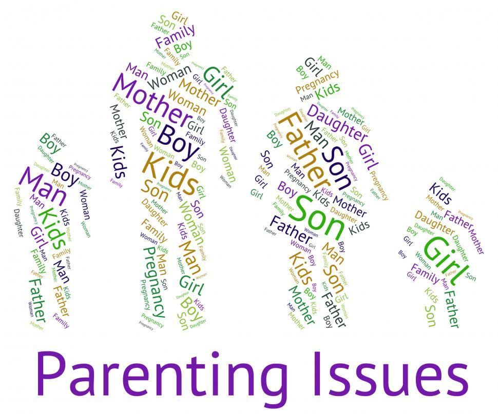 Download Free Stock HD Photo of Parenting Issues Indicates Mother And Baby And Affairs Online