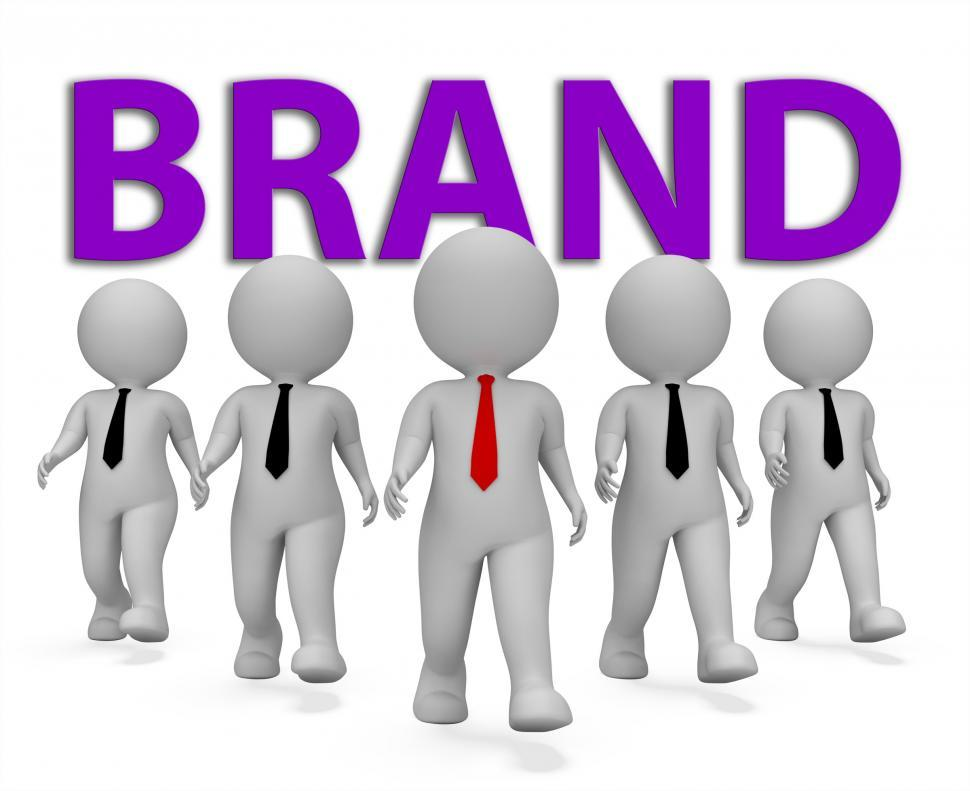 Download Free Stock HD Photo of Brand Businessmen Indicates Company Identity 3d Rendering Online