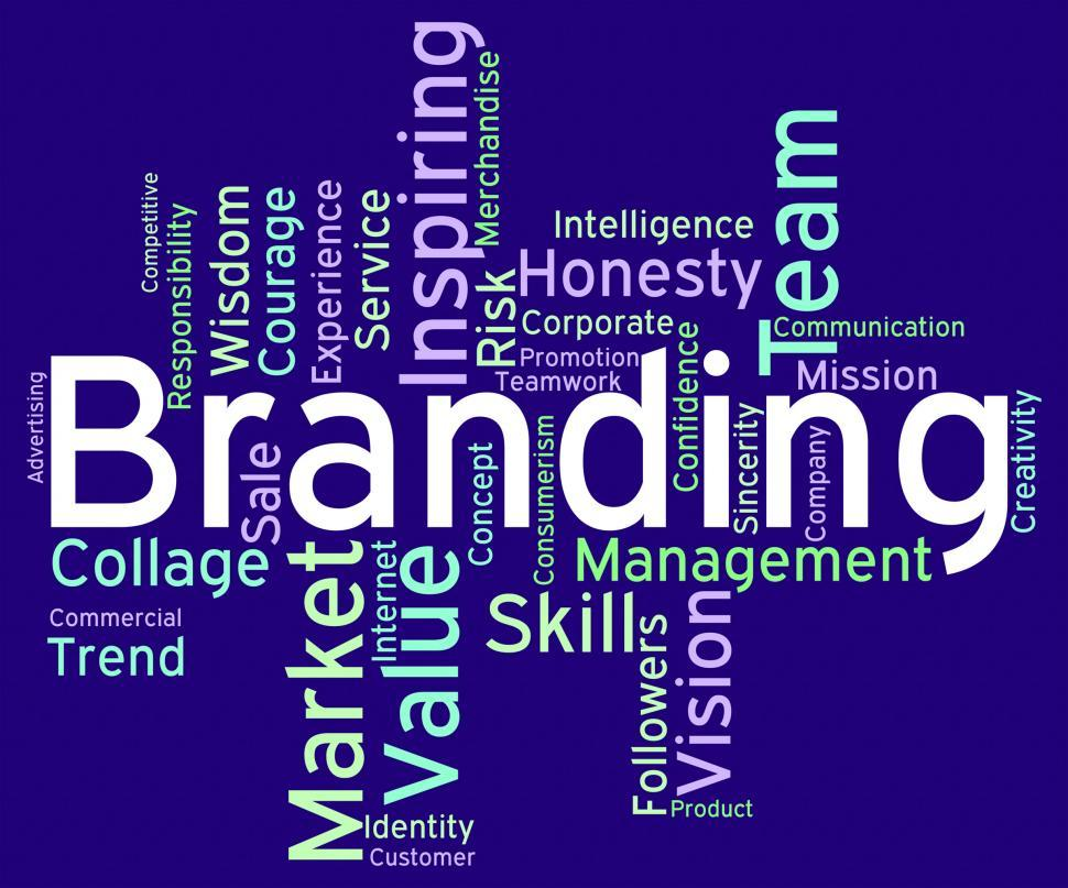 Download Free Stock HD Photo of Branding Words Indicates Wordcloud Brands And Store Online