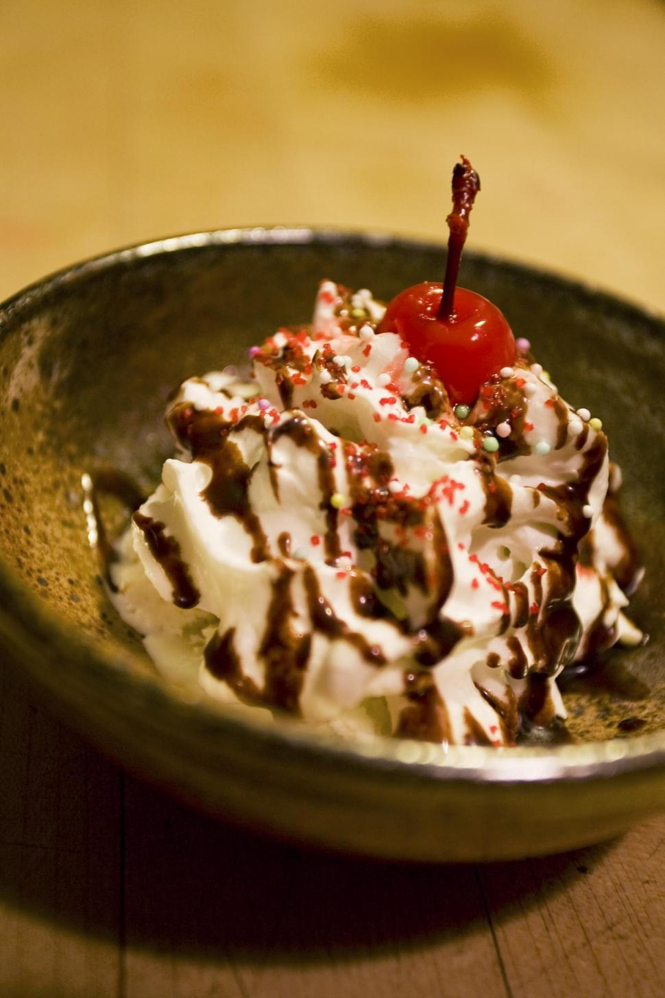 Download Free Stock HD Photo of Ice Cream dessert sundae Online