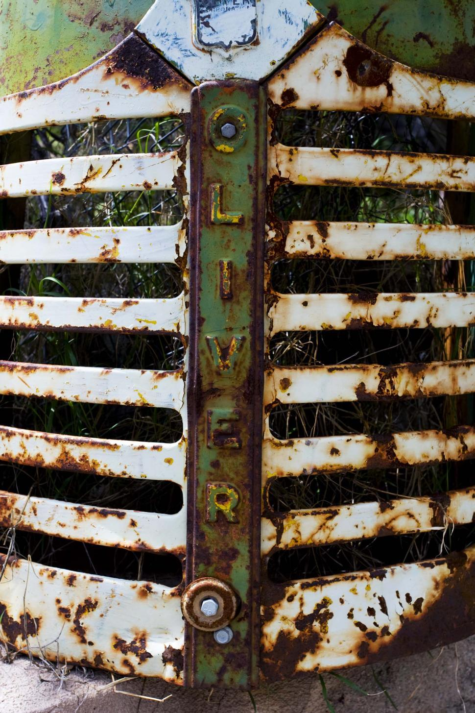 Download Free Stock HD Photo of Old rusted grille Online
