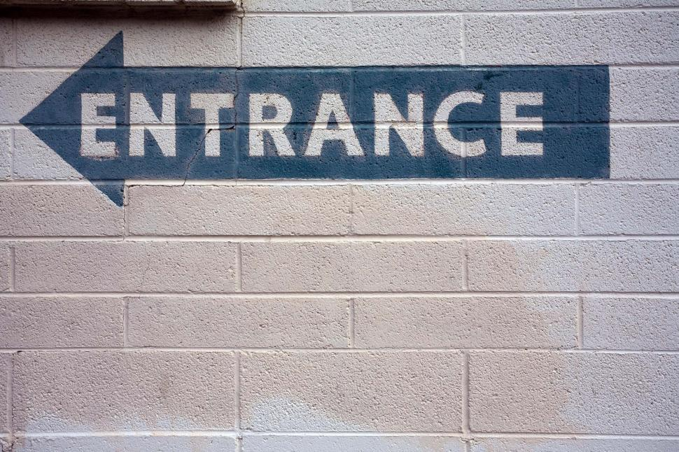 Download Free Stock HD Photo of Entrance over there Online