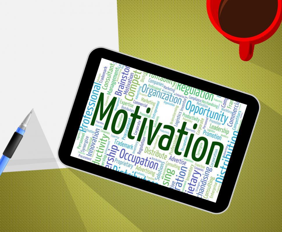 Download Free Stock HD Photo of Motivation Word Means Do It Now And Act Online