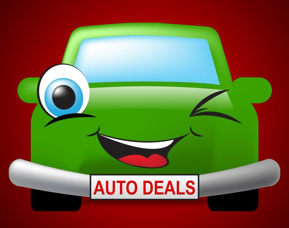 Download Free Stock HD Photo of Auto Deals Indicates Bargain Car 3d Illustration Online