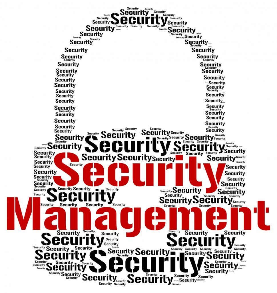 Download Free Stock HD Photo of Security Management Means Administration Executive And Login Online