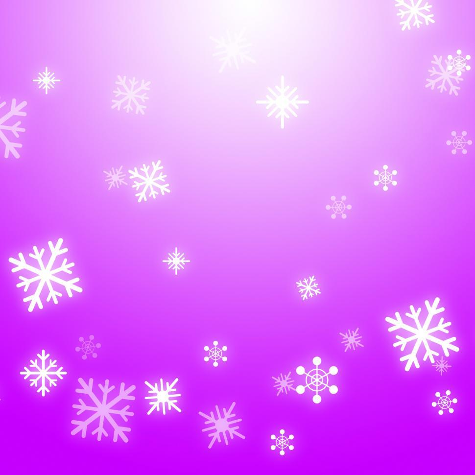 Download Free Stock HD Photo of Snow Flakes Background Means Winter Celebration Or Shiny Snow Online