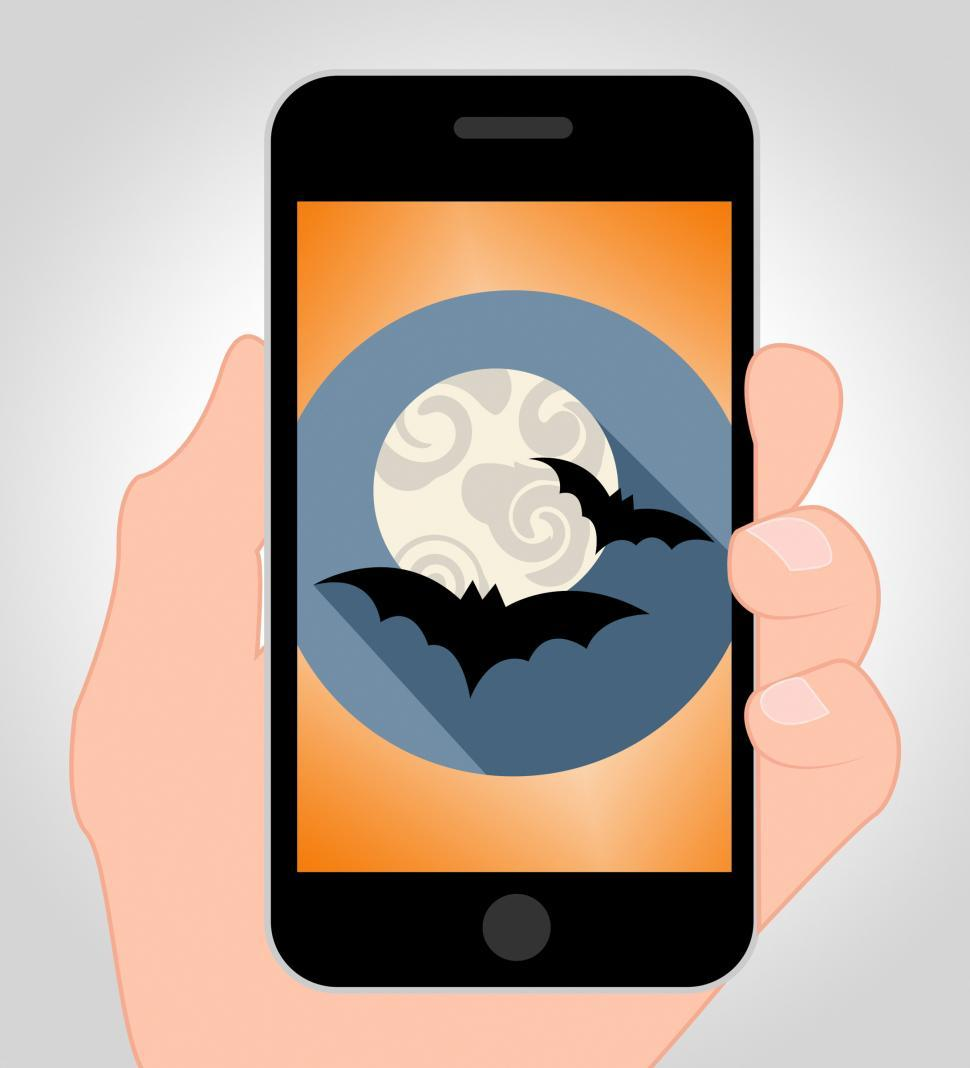 Download Free Stock HD Photo of Halloween Bats Online Shows Spooky Hanging Animals Online