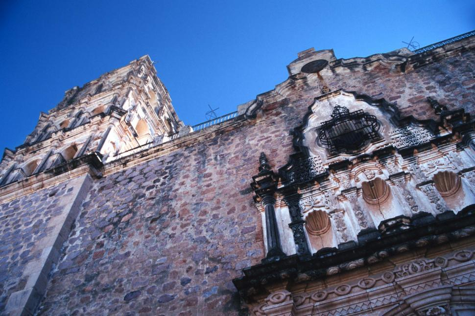 Download Free Stock HD Photo of Church in Alamos, Mexico Online