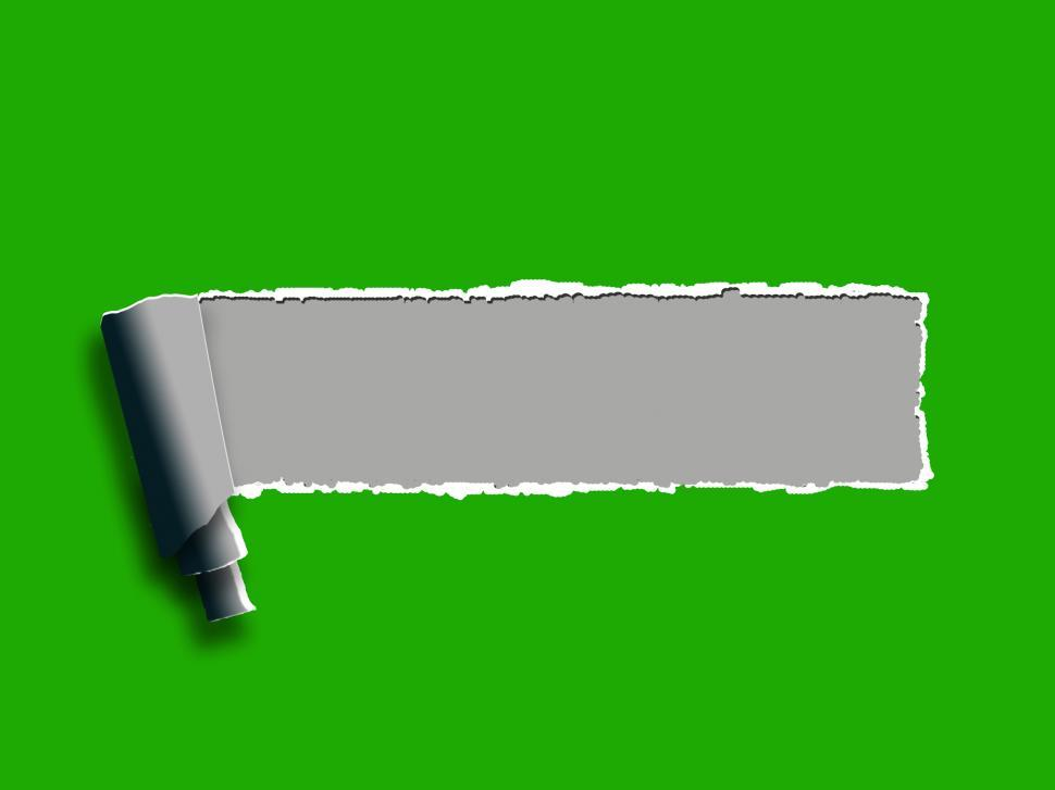 Download Free Stock HD Photo of Torn Paper Background Shows Blank Copyspace Ripped Note Online
