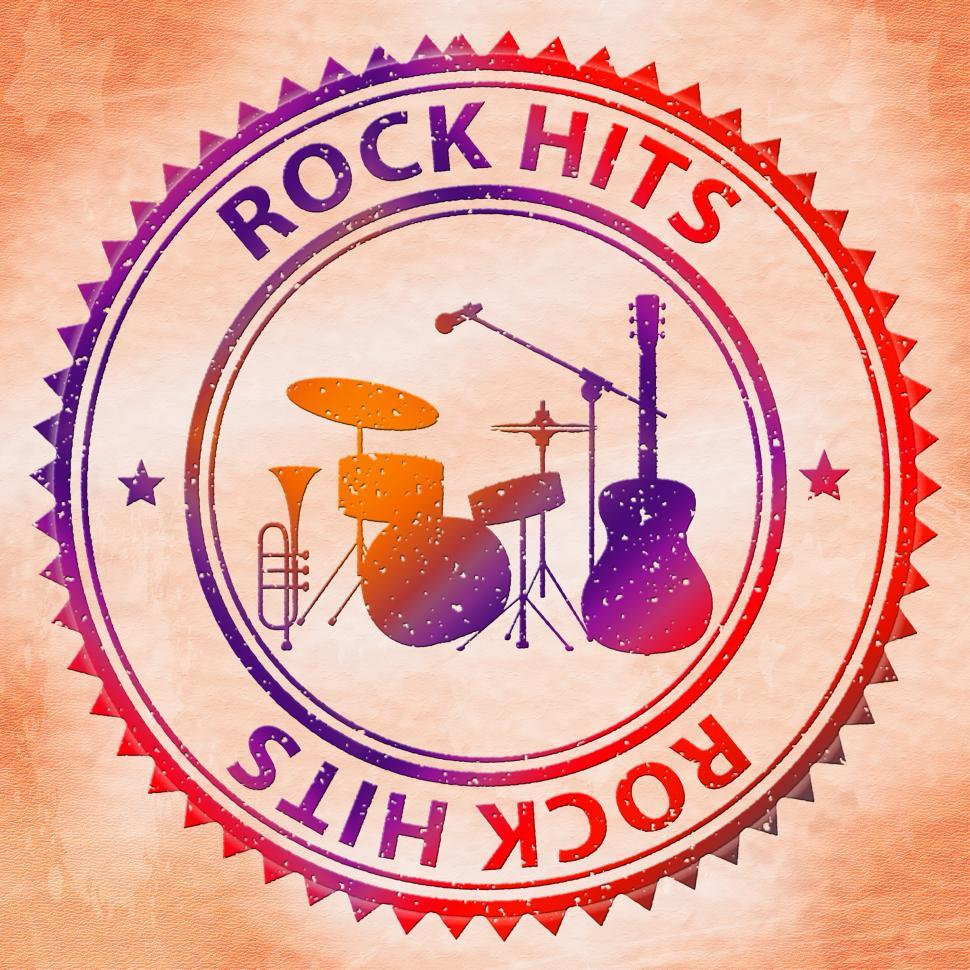 Download Free Stock HD Photo of Rock Hits Indicates Sound Track And Audio Online