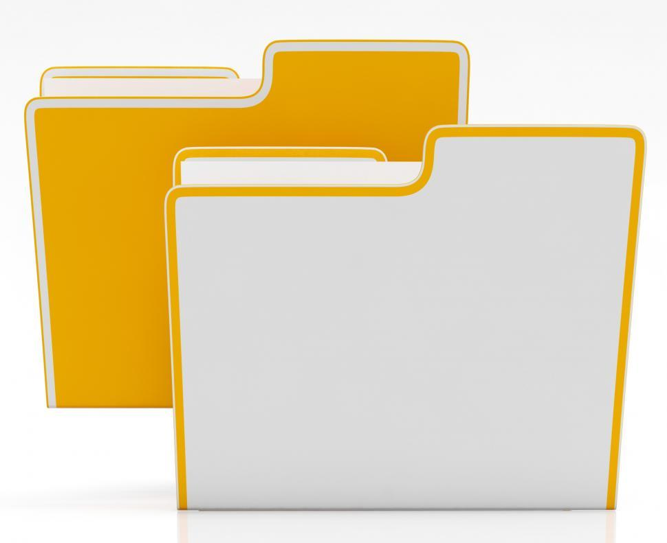 Download Free Stock HD Photo of Files Showing Organising And Paperwork Online
