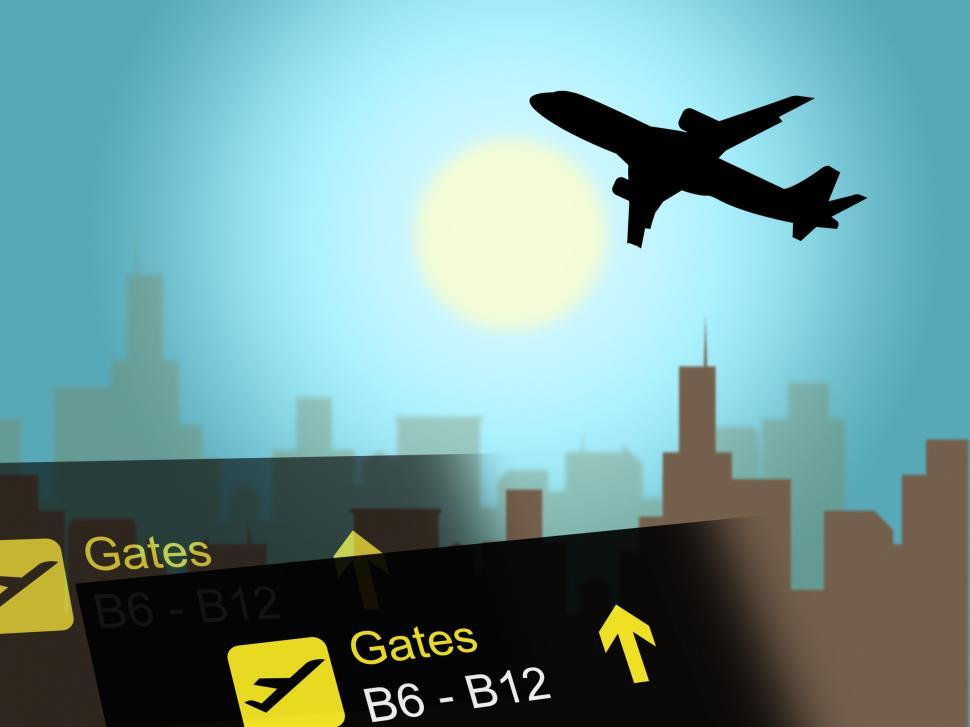 Get Free Stock Photos of Vacation Flight Indicates Airline