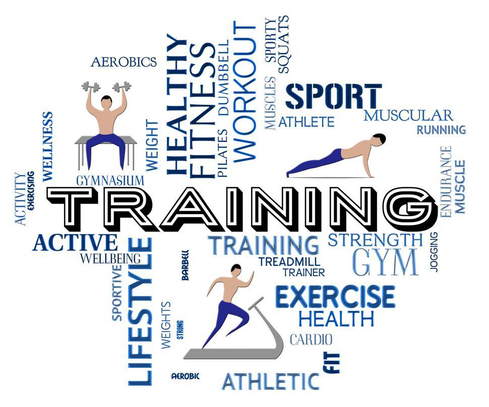 Download Free Stock HD Photo of Fitness Training Indicates Physical Activity And Exercise Online