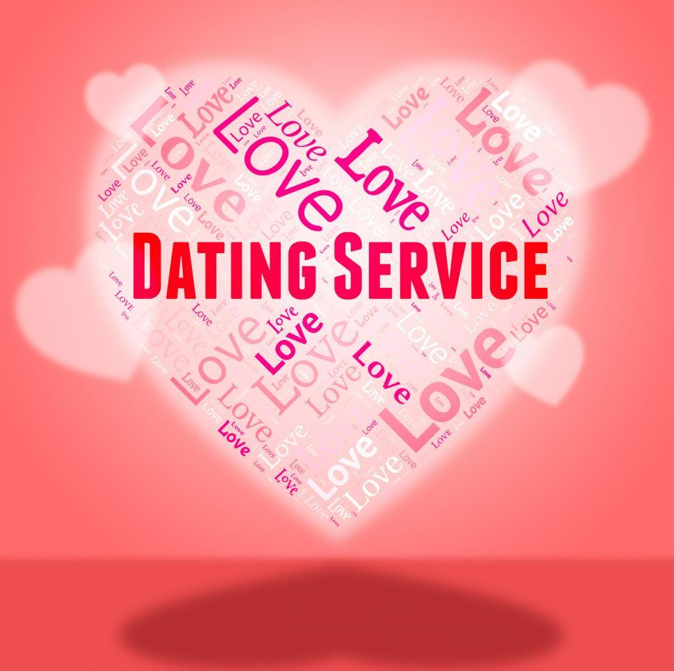 free text dating service