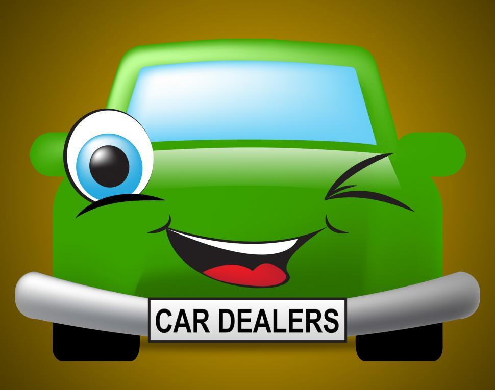 Download Free Stock HD Photo of Car Dealers Means Business Organisation And Automobile Online