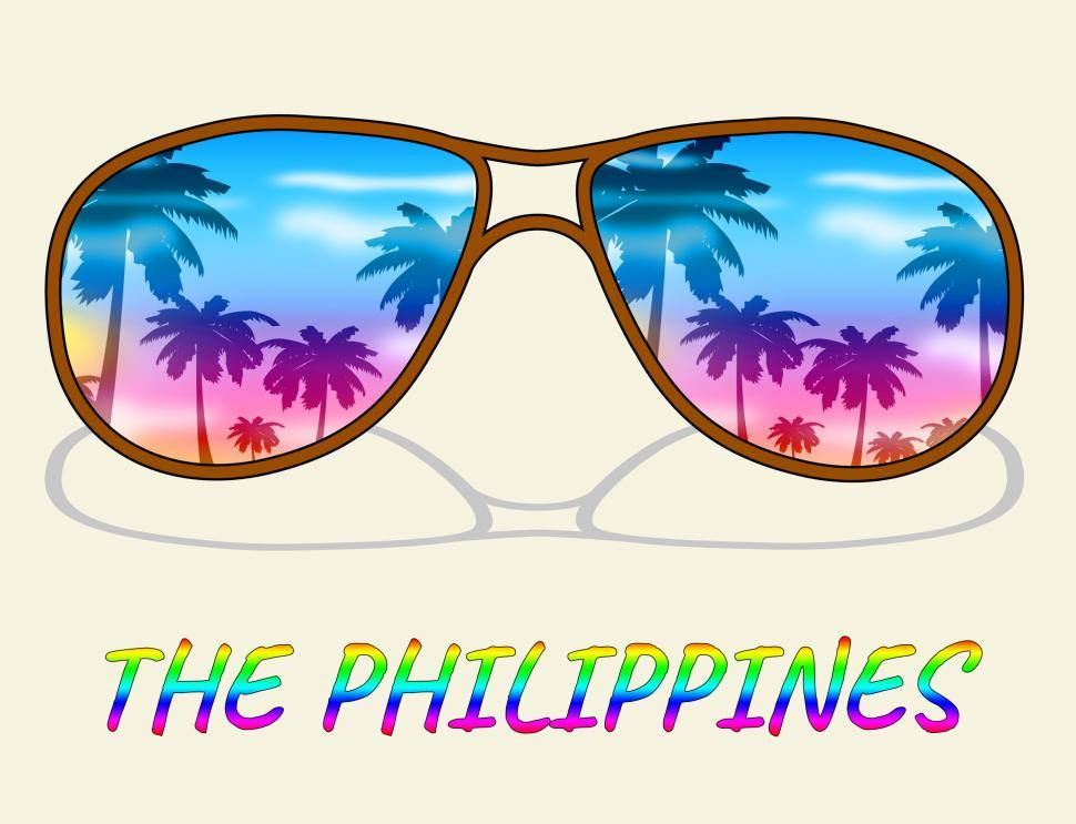 Download Free Stock HD Photo of Philippines Holiday Indicates Asian Vacation Or Getaway Online