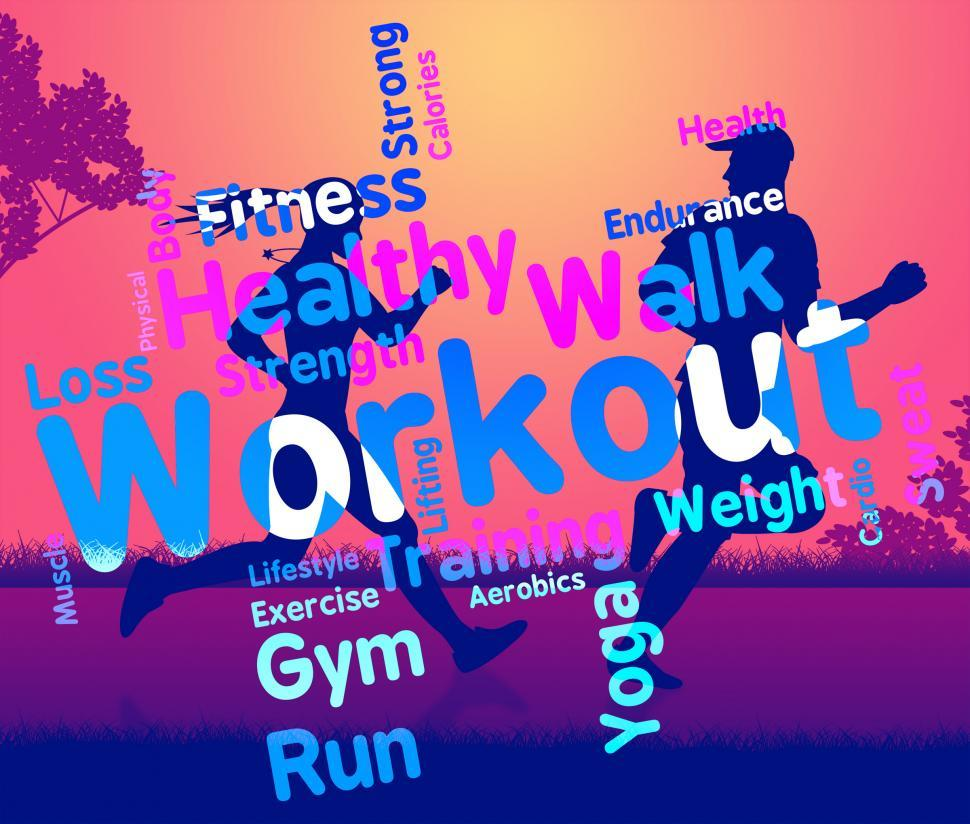 get free stock photos of workout words shows get fit and exercising