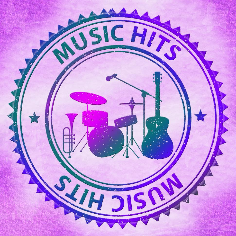 Download Free Stock HD Photo of Music Hits Indicates Sound Track And Audio Online