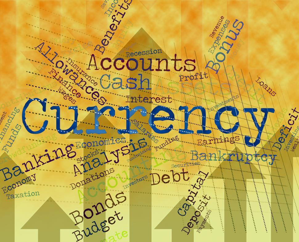 Free Stock Hd Photo Of Currency Word Shows Exchange Rate And Coinage Online