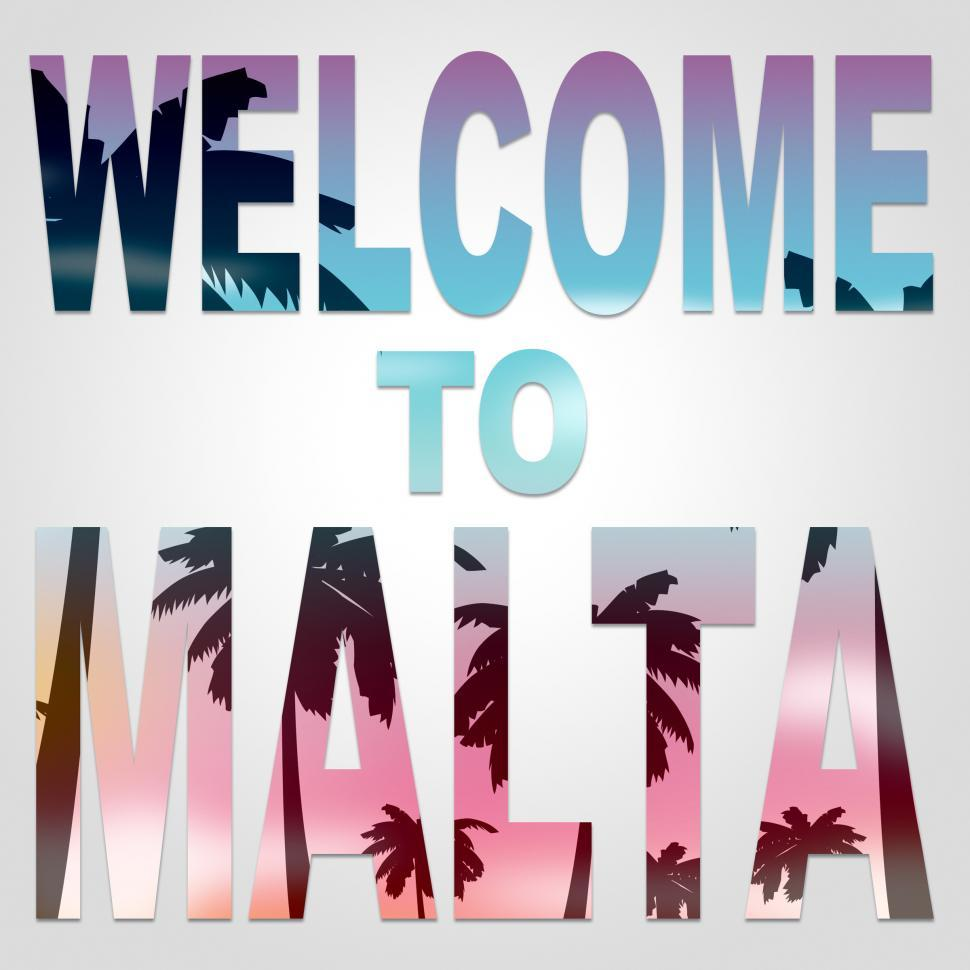Get Free Stock Photos Of Welcome To Malta Indicates Arrival Greeting