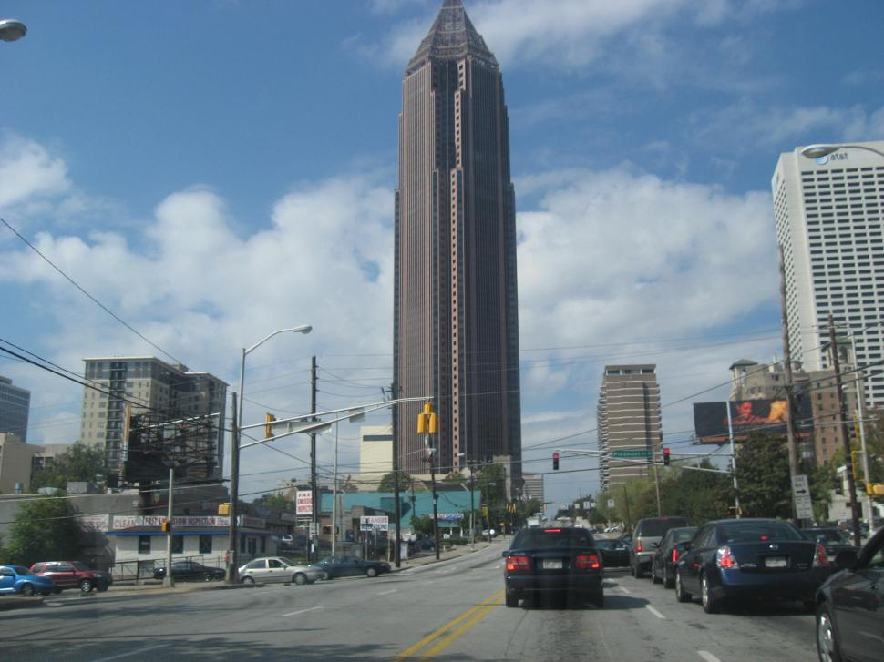 Download Free Stock HD Photo of Bank of America, Atlanta, Georgia Online