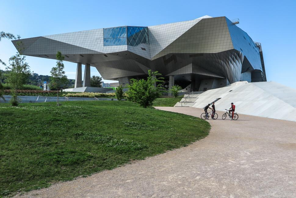 Download Free Stock HD Photo of Confluence Museum in Lyon Online