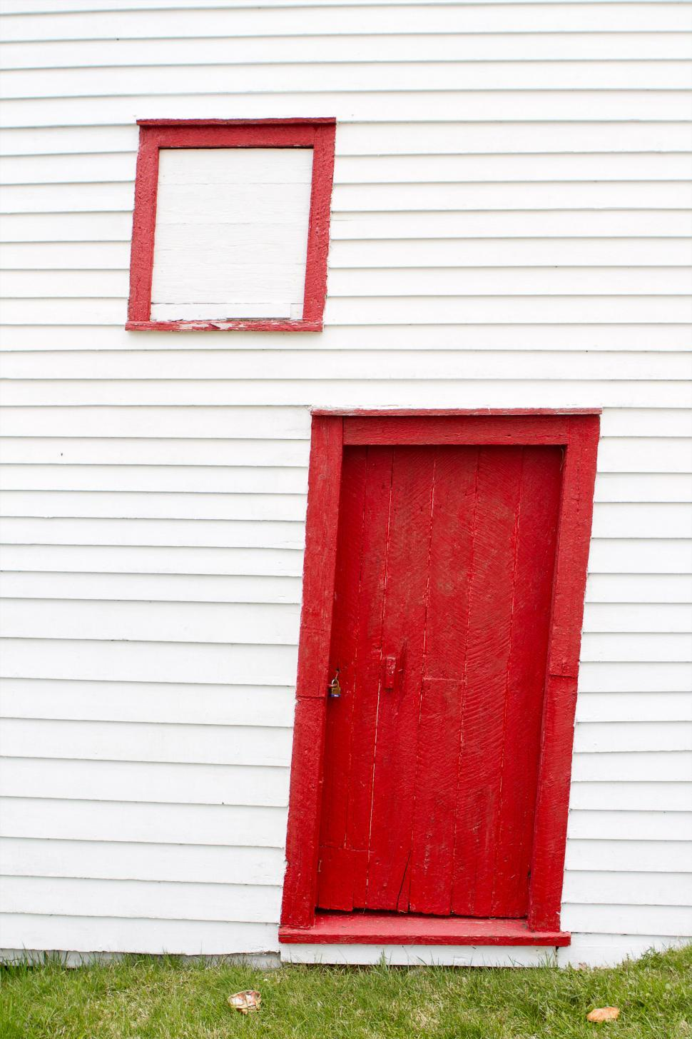 Download Free Stock HD Photo of Wall with door and window. Online
