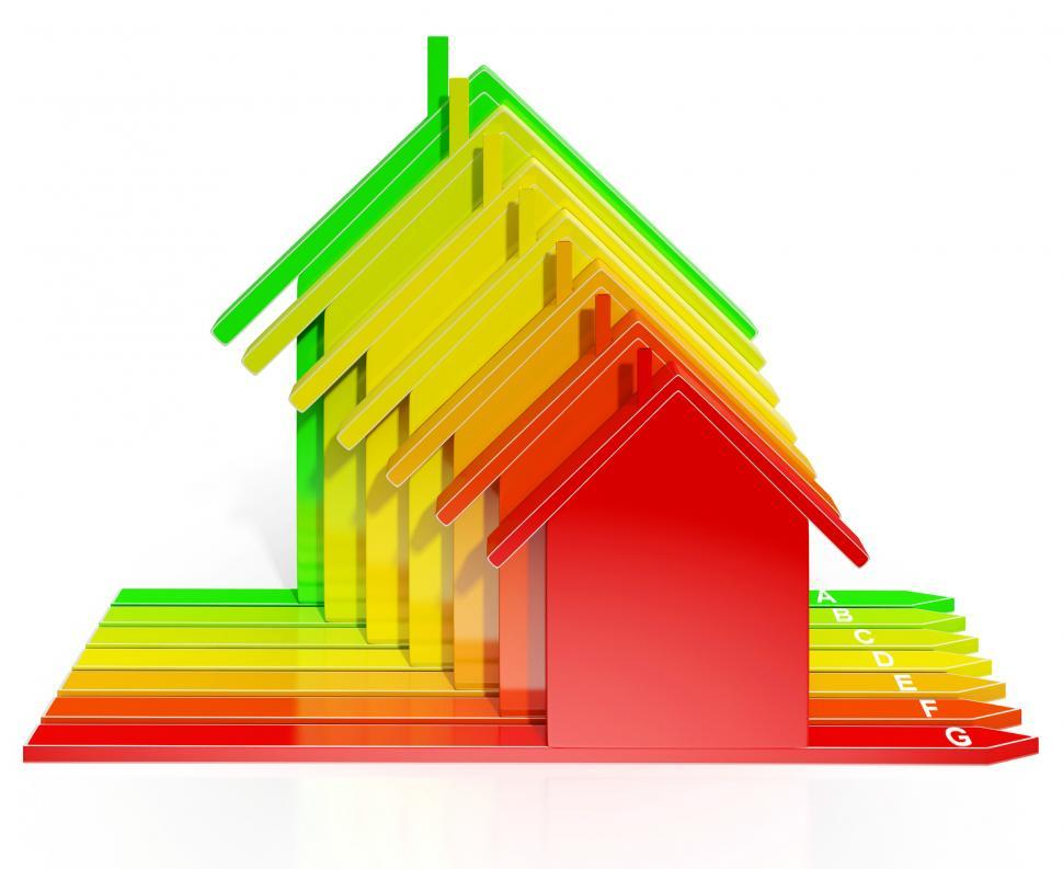 Download Free Stock HD Photo of Energy Efficiency Rating Houses Show Eco Home Online