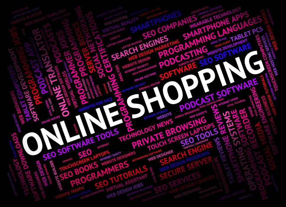 Download Free Stock HD Photo of Online Shopping Shows World Wide Web And Commerce Online
