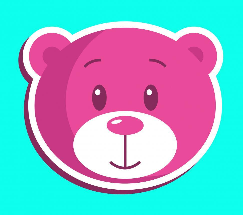 Download Free Stock HD Photo of Teddy Bear Icon Indicates Stuffed Animal And Bears Online