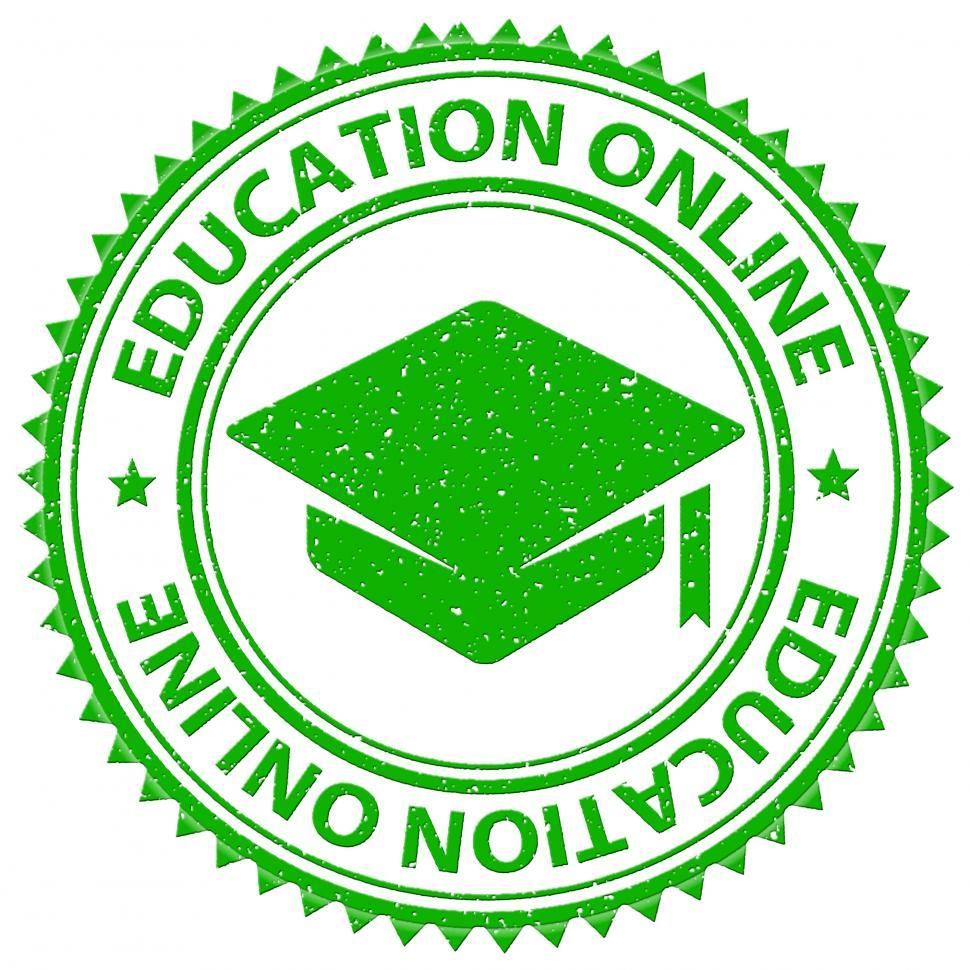 Download Free Stock HD Photo of Education Online Shows Web Site And Educated Online