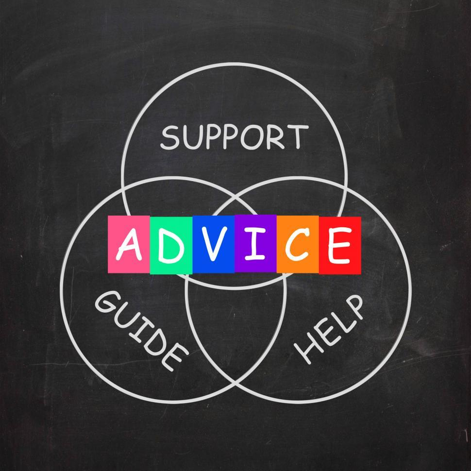 Download Free Stock HD Photo of Guidance Means Advice and to Help Support and Guide Online