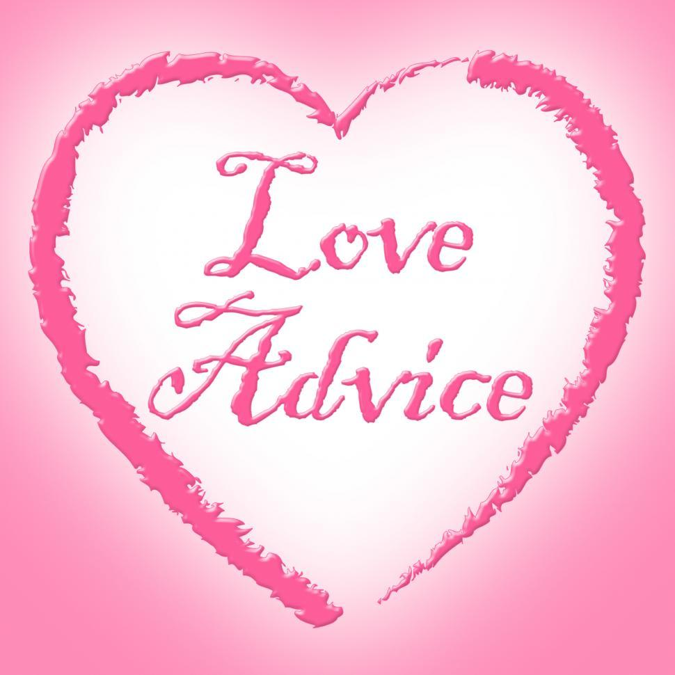 Download Free Stock HD Photo of Love Advice Shows Help Assistance And Tenderness Online
