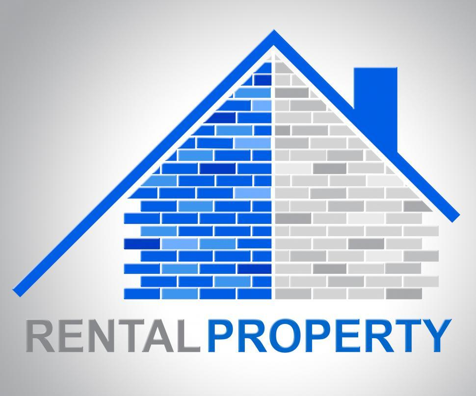 Download Free Stock HD Photo of Rental Property Indicates Houses Rented And Real-Estate Online