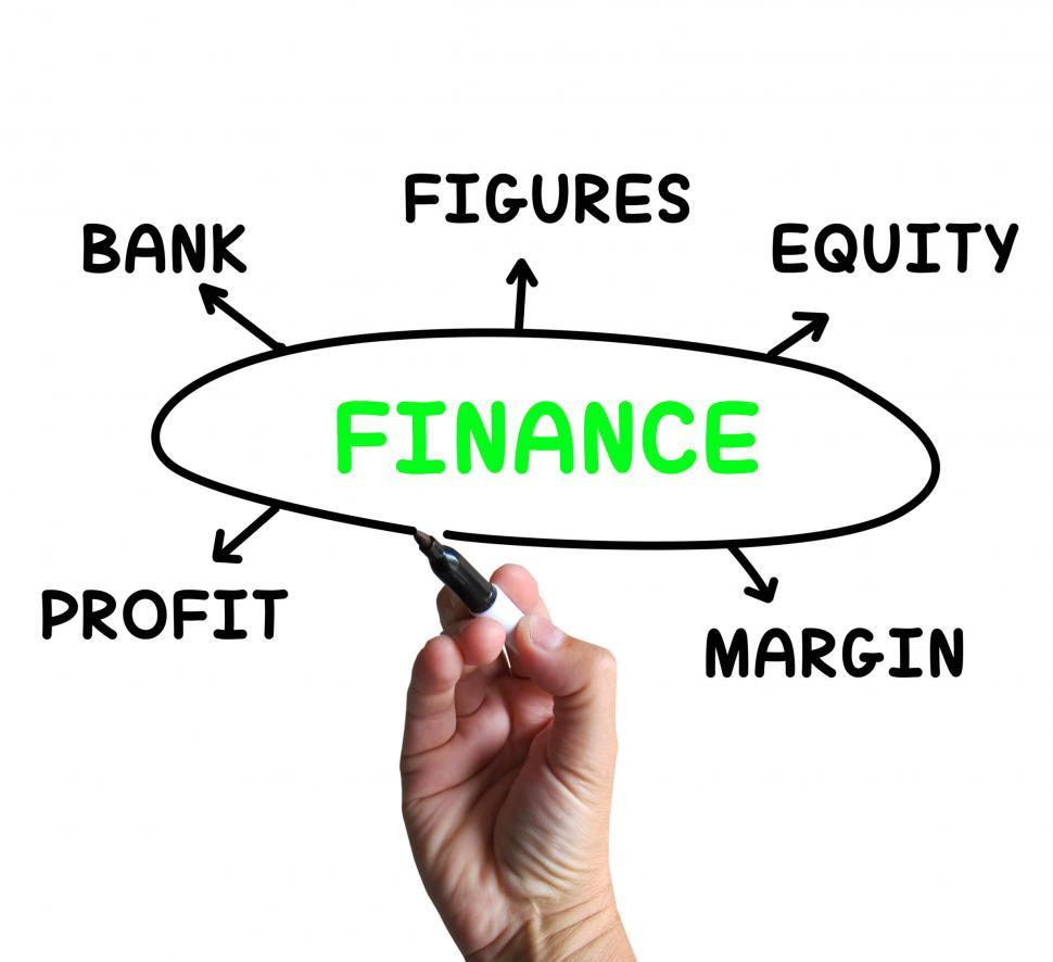 Download Free Stock HD Photo of Finance Diagram Means Figures Equity And Profit Online