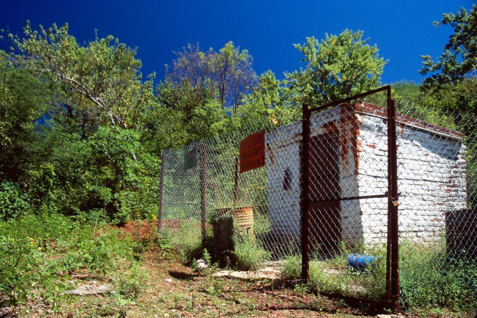 Download Free Stock HD Photo of Small explosives shed Online