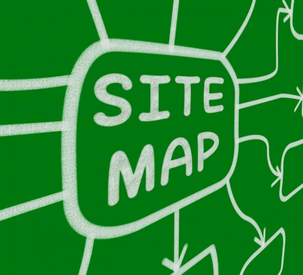 Get Free Stock Photos of Site Map Diagram Means Layout Of Website ...