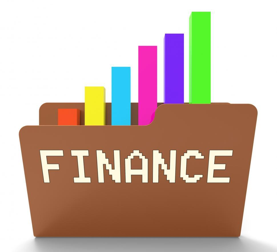 Download Free Stock HD Photo of Finance File Indicates Business Earnings 3d Rendering Online
