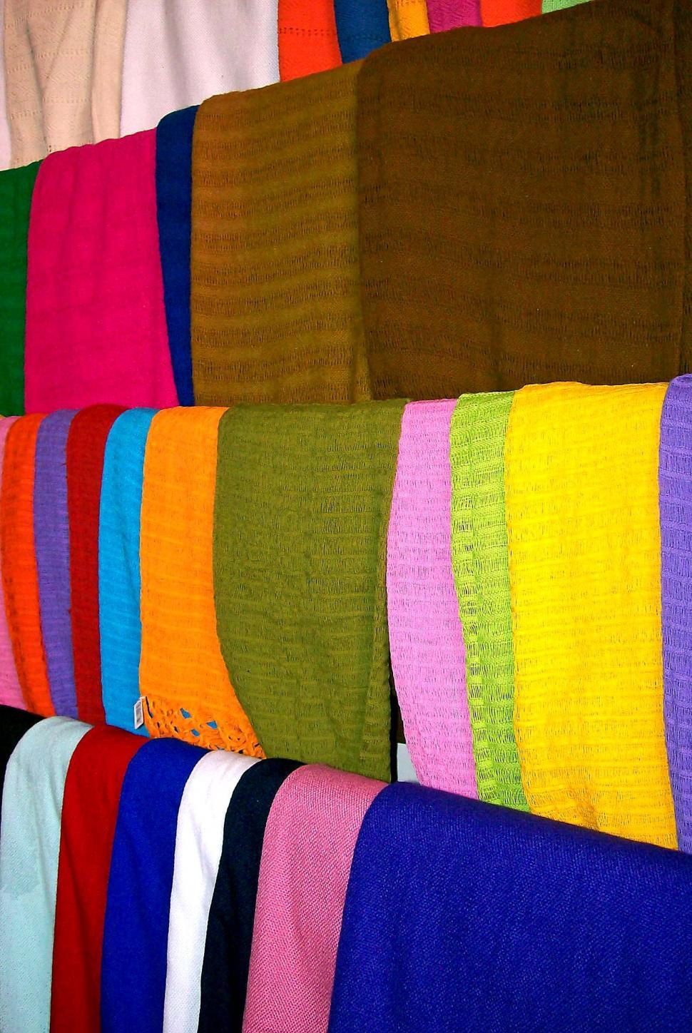 Download Free Stock HD Photo of Multicolor Scarves Online