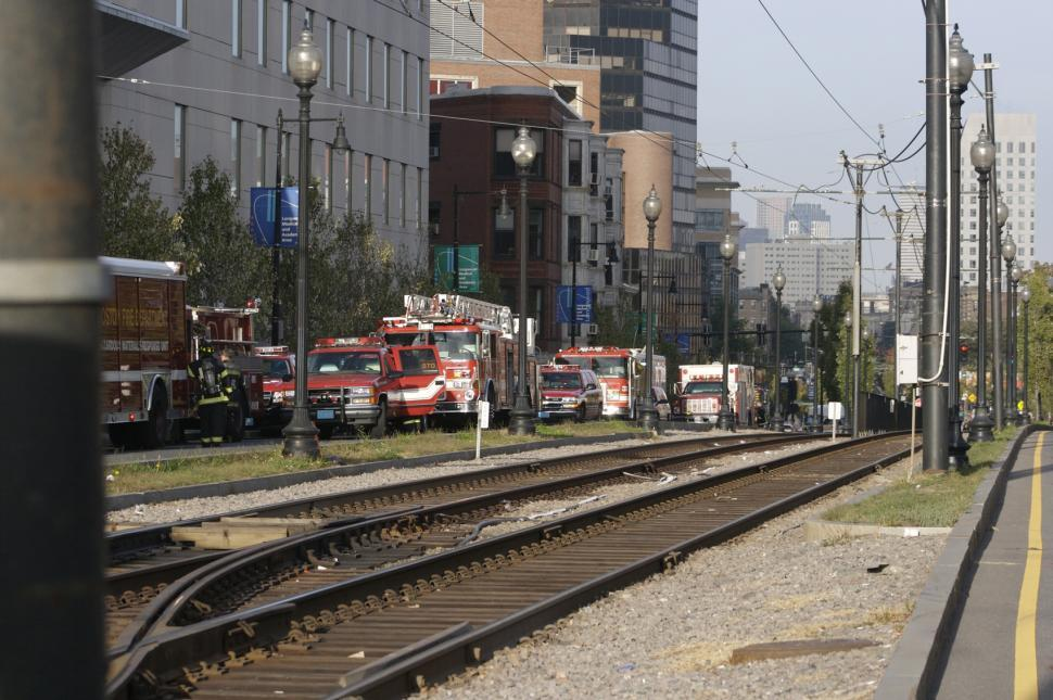 Download Free Stock HD Photo of fire trucks and tracks Online