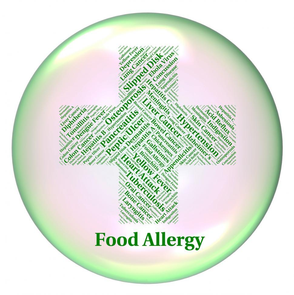Download Free Stock HD Photo of Food Allergy Indicates Hay Fever And Ailments Online