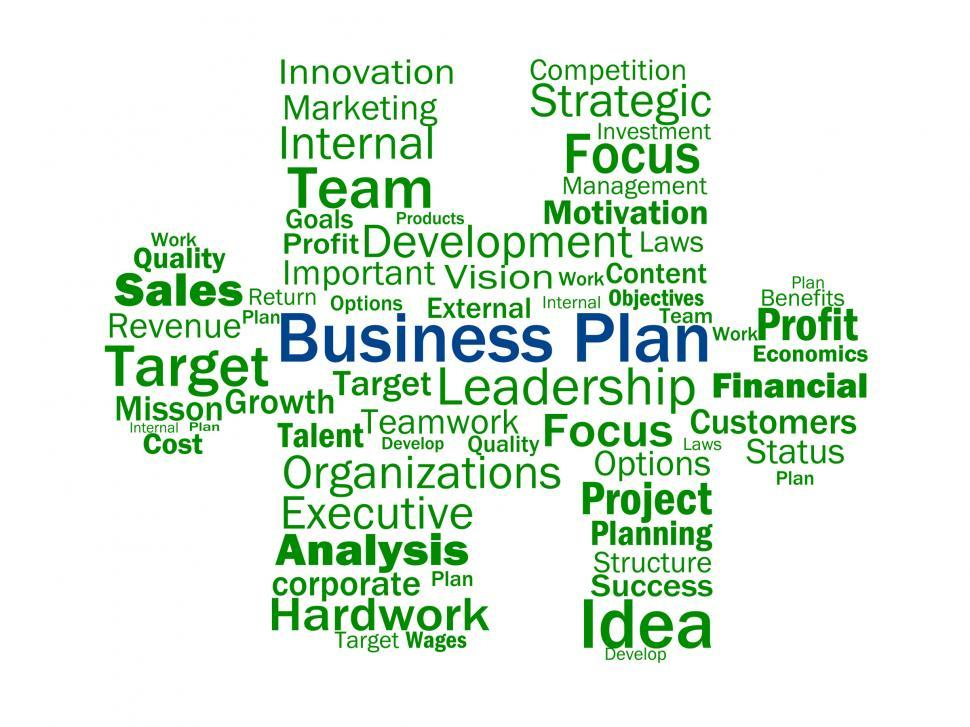 Download Free Stock HD Photo of Business Plan Shows Aims Strategy Plans Or Planning Online