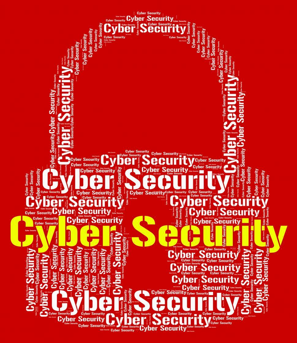 Download Free Stock HD Photo of Cyber Security Indicates World Wide Web And Protect Online