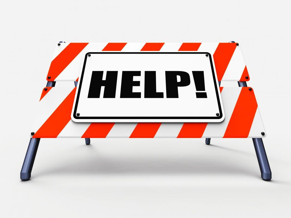 Free Stock Photo of Help Sign Refers to Assistance Wanted and ...
