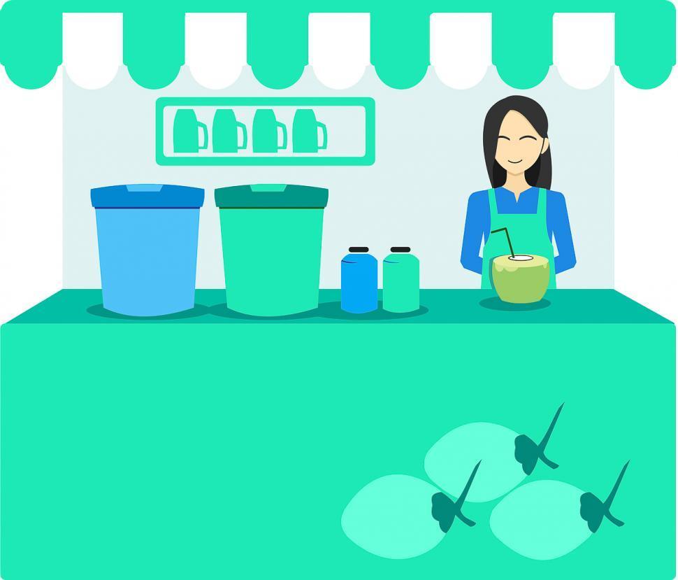 Download Free Stock HD Photo of Drink vendor Online