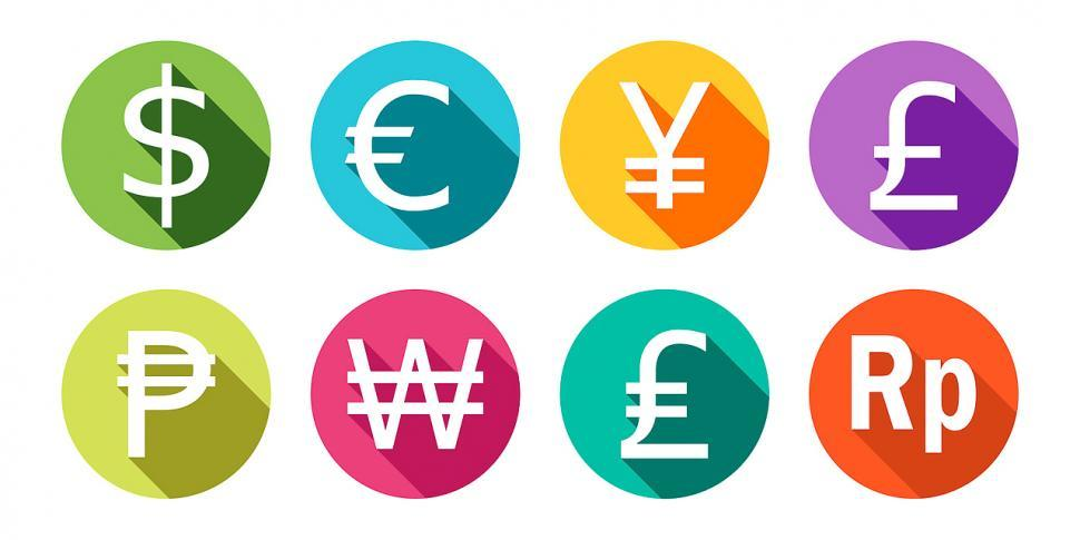 Download Free Stock HD Photo of Currency icons Online
