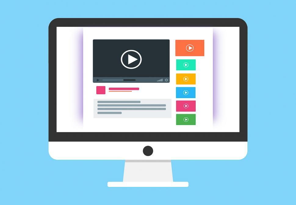 Download Free Stock HD Photo of Video web page layout Online