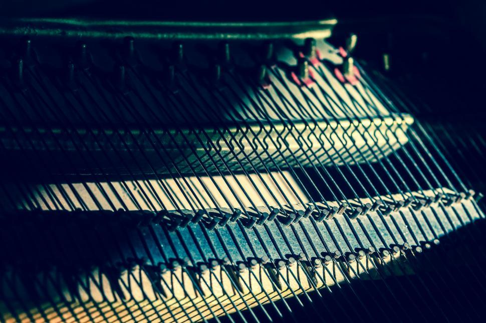 Download Free Stock HD Photo of Piano strings Online