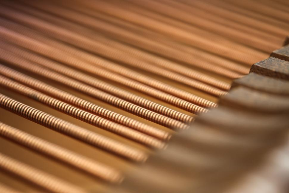 Download Free Stock HD Photo of Thick piano strings Online